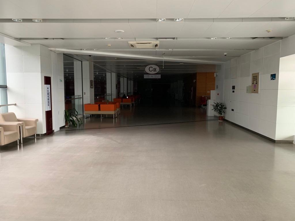 verlassene Bibliothek